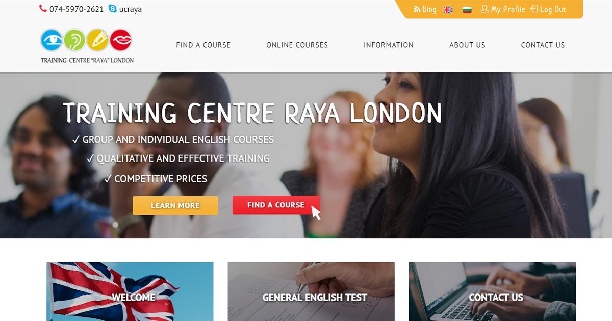 General English Test - Training Centre Raya