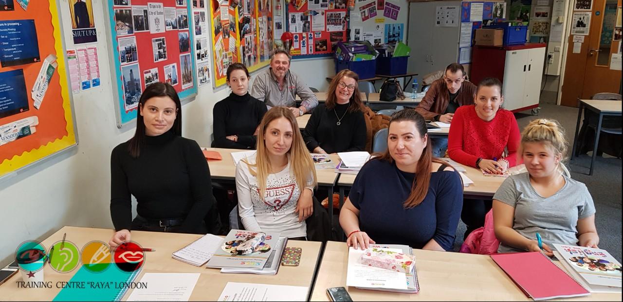 Търсите Курсове по английски език в Лондон? Training Centre RAYA London